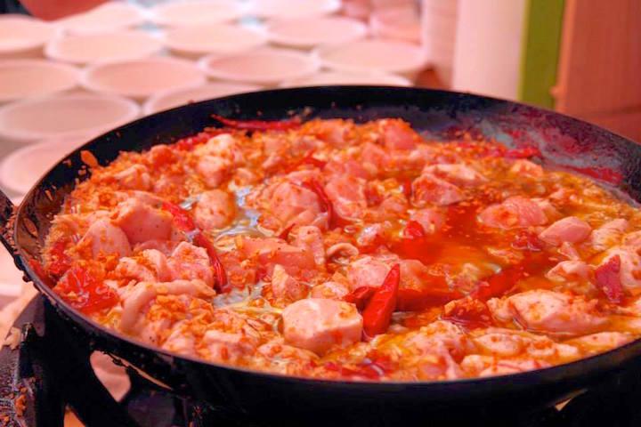 京都のスペイン料理