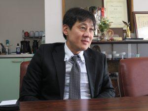 「佐々木酒造」代表取締役 佐々木晃さん