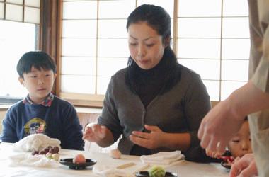 和菓子に挑戦