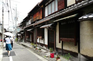 町家の小道