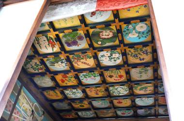 六波羅蜜寺の天井画