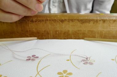 京刺繍で和小物作り体験